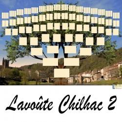 Présentation Lavoute Chilhac 2 - Arbre ascendant vierge 7 générations