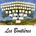 Les Boutières - Arbre ascendant vierge 7 générations