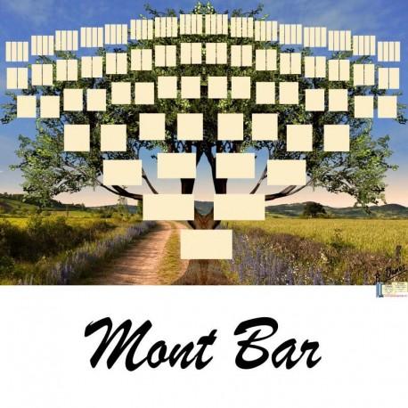 Présentation Mont Bar - Arbre ascendant vierge 7 générations