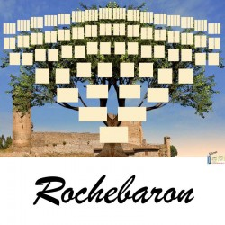 Présentation Rochebaron - Arbre ascendant vierge 7 générations