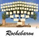 Rochebaron - Arbre ascendant vierge 7 générations