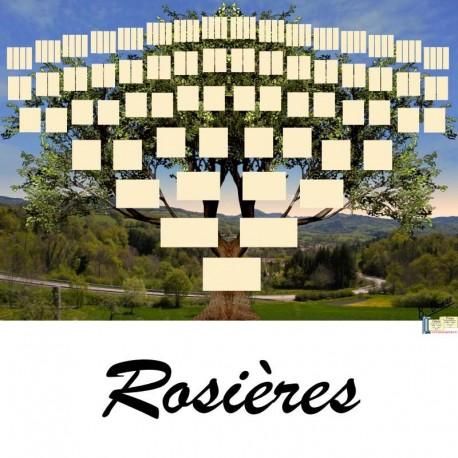 Présentation Rosières - Arbre ascendant vierge 7 générations