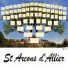 Présentation Saint Arcons d'Allier - Arbre ascendant vierge 7 générations