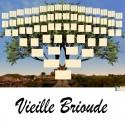 Vieille Brioude - Arbre ascendant vierge 7 générations