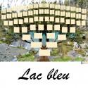 Lac bleu - Arbre ascendant vierge 7 générations