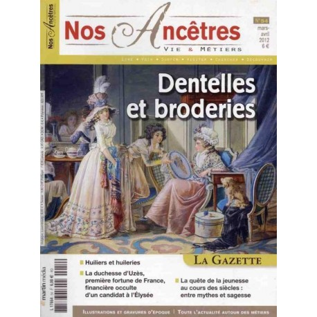 Dentelles et broderies