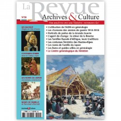 La revue d'Archives & Culture n°30