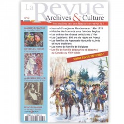 La revue d'Archives & Culture n°32