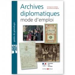 Archives diplomatiques mode d'emploi