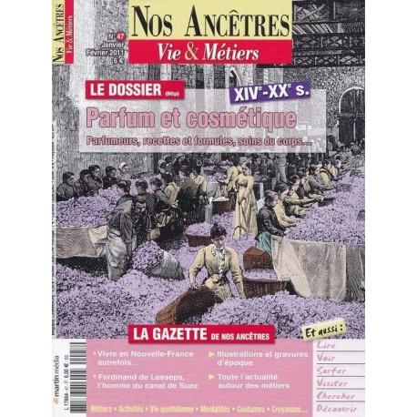 Parfums et Cosmétiques  XIVe - XXe