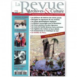La revue d'Archives & Culture n°34
