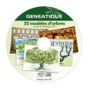 Pack de 22 modèles d'arbres généalogiques