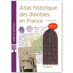 Atlas historique des diocèses en France - 2° Edition