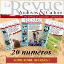 Abonnement 20 revues d'Archives & Culture