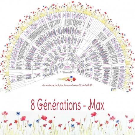 Prairie 8 générations Max