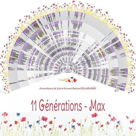 Prairie 11 générations Max
