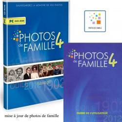 Pack mise à jour Photos de Famille avec le guide