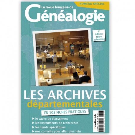 Les archives départementales en 108 fiches