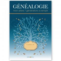 Généalogie - Mon arbre 7 générations à remplir