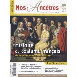 Sommaire du N°63 - Histoire du costume français