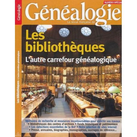 Les Bibliothèques : l'autre carrefour généalogique,