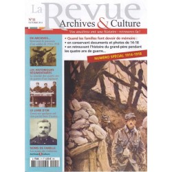 La revue d'Archives & Culture n°11