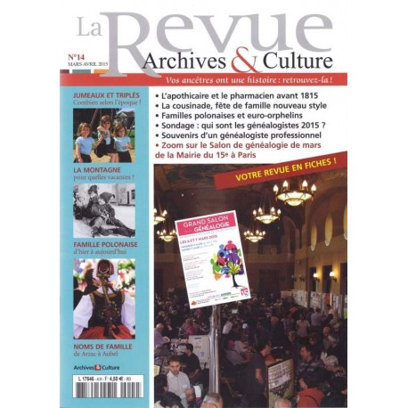La revue d'Archives & Culture n°14