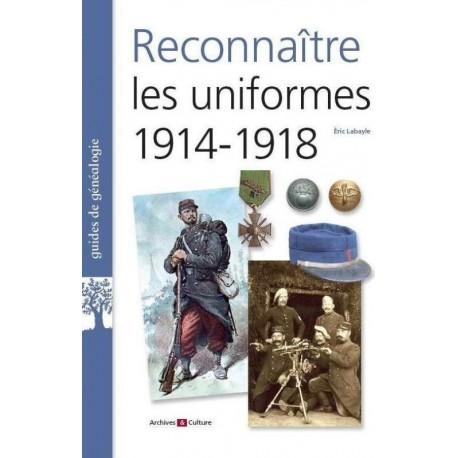 Reconnaître les uniformes 1914-1918