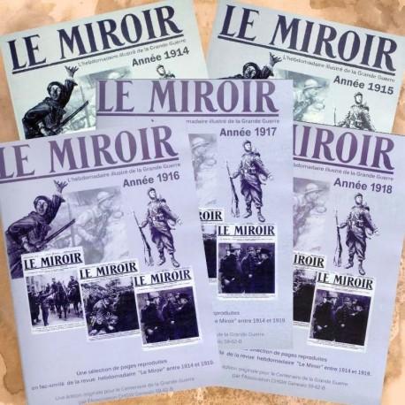 Pack, Le Miroir, Années 1914-1915-1916-1917-1918