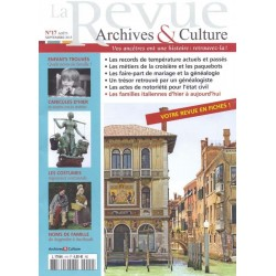 La revue d'Archives & Culture n°17