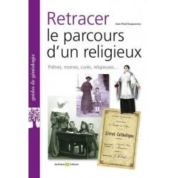 Retracer le parcours d'un religieux (couverture)