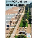 8ème forum de Généalogie et d'Histoire local - ANNULE